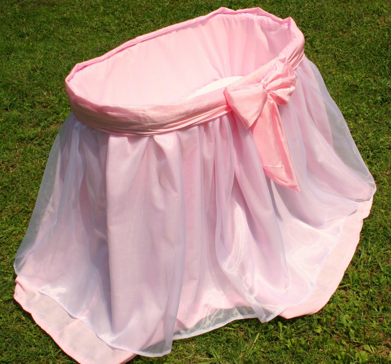 Baby Bassinet Skirt 110