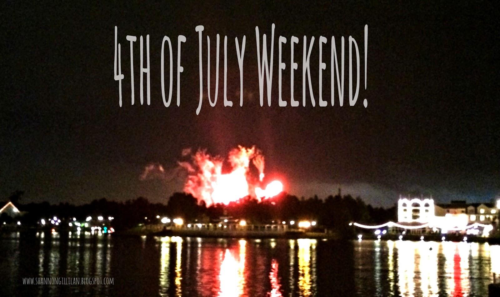 Orlando Florida Fourth of July www.shannongillilan.blogspot.com