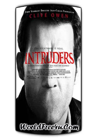 Poster Of Intruders In Dual Audio Hindi English 300MB Compressed Small Size Pc Movie Free Download Only At worldfree4u.com