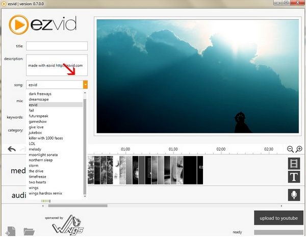 Software Ezvid Video Maker