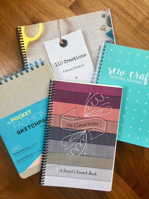 Planning a Handmade Wardrobe with Sewing Journals and Swatch Books