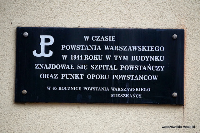 Warszawa Warsaw Mokotów ulice Mokotowa architektura miasto  kamienica powstanie warszawskie