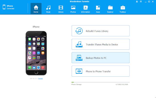 Cara Menambahkan Lagu Iphone Gratis dengan Wondershare Tunesgo