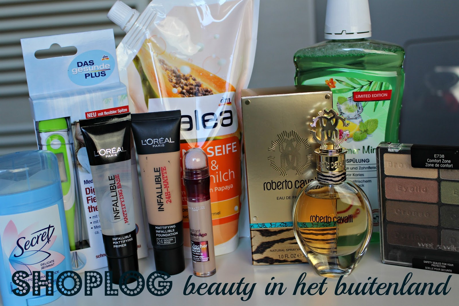haul beauty aankopen in het buitenland
