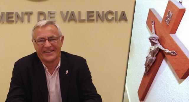 El Ayuntamiento de Valencia retirará los símbolos religiosos de todos sus edificios públicos