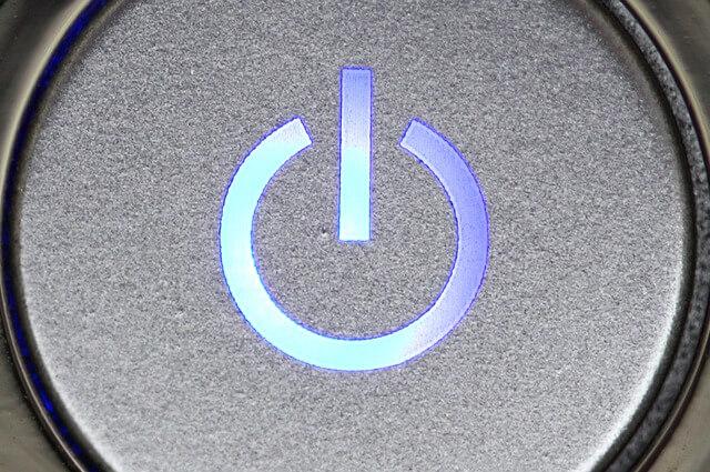 Periksa Tombol Power Komputer