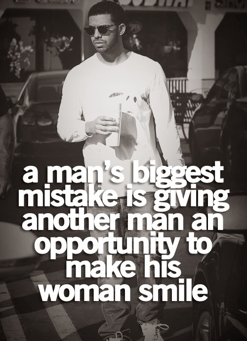 A man's biggest mistake is giving another man an ...
