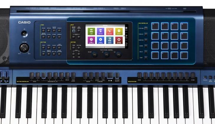 Đàn Organ Casio MZ-X500 với Màn hình màu cảm ứng LCD