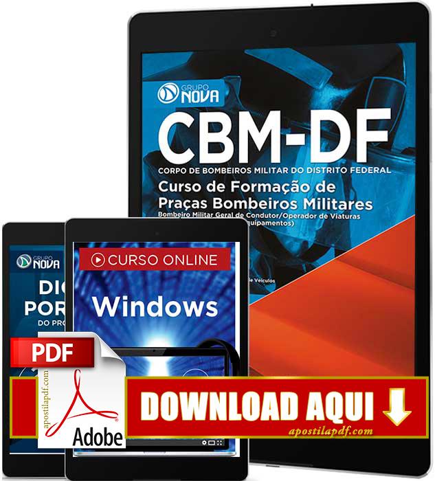 Apostila Bombeiro DF 2016 PDF Download Condutor e Operador de Viaturas