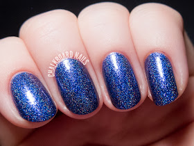 Glam Polish Second Star to the Right via @chalkboardnails