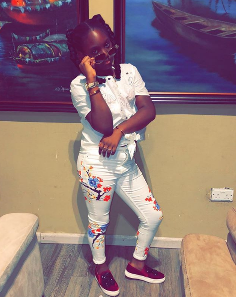 Annie and 2Face Idibia's First Daughter, Isabella Is Now A Big Girl As They Share Lovely Photos Of Her