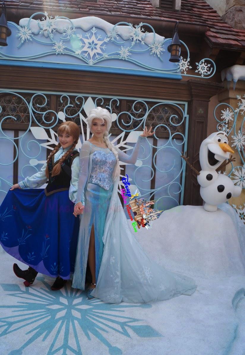 與《魔雪奇緣》主角見面時間 再度延長 直至另行通知 | Disney Magical Kingdom Blog