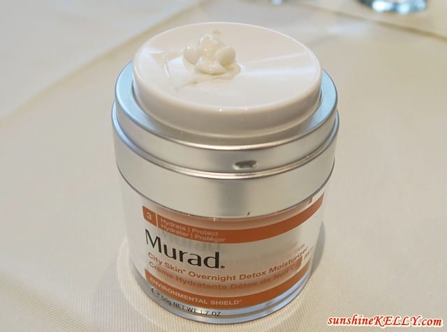 Murad City Skin Overnight Detox Moisturizer and Age Defense Broad Spectrum SPF50 PA++++