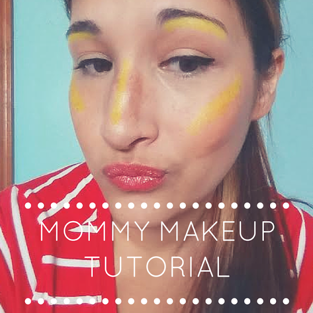 Mommy Cusses hot mess makeup tutorial