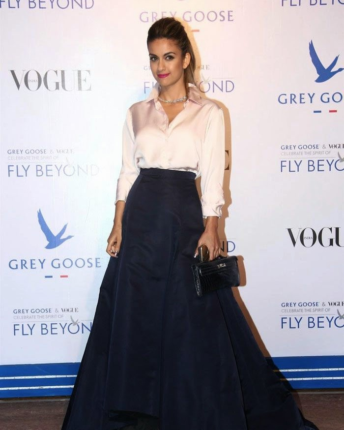 Natasha Poonawala, Pics from Red Carpet of Grey Goose & Vogue's Fly Beyond Awards 2014