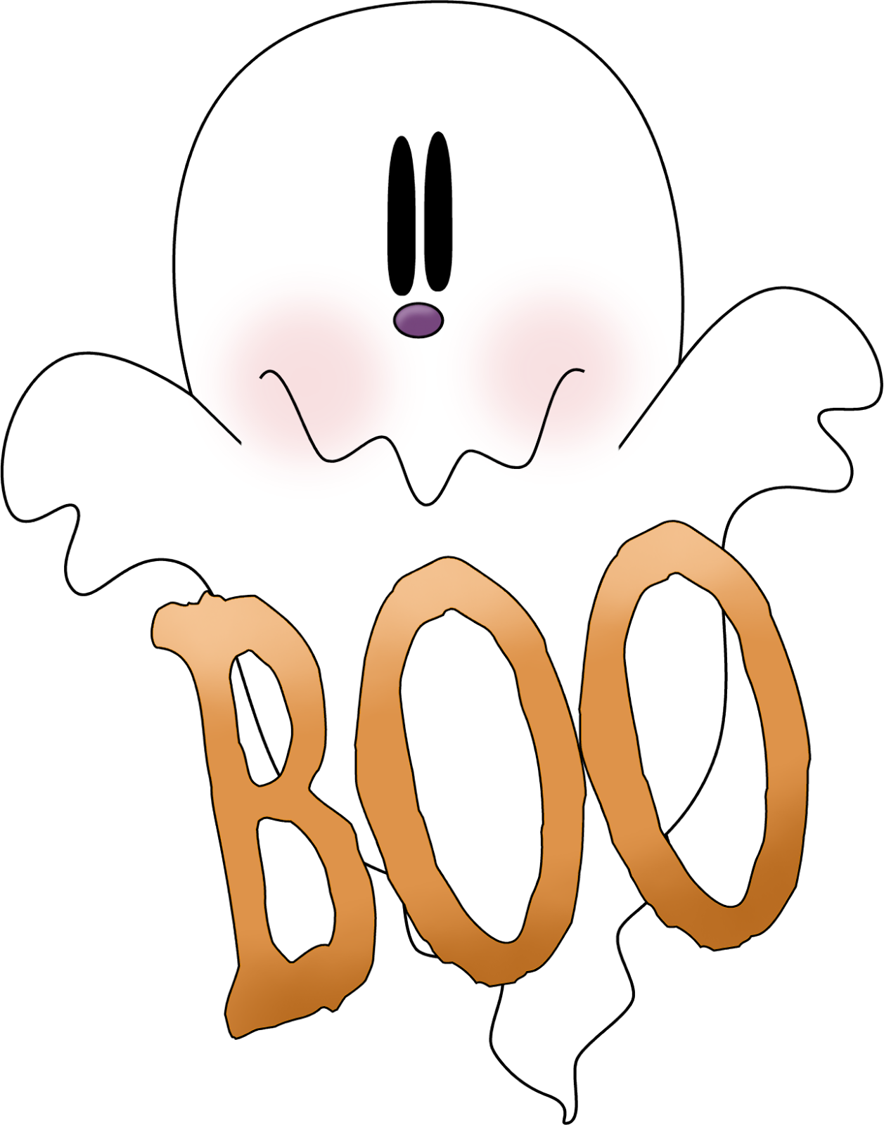 Halloween Ghosts Clipart Oh My Fiesta In English
