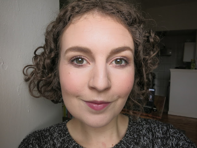 GOSH X-Ceptional Wear Foundation as part of a now completed makeup look