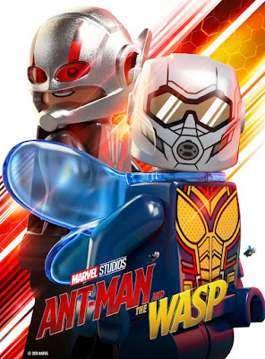 Marvel's Ant-Man and The Wasp LEGO One Sheet Movie Poster