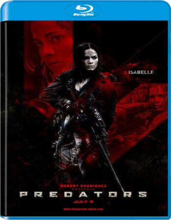 Predators (2010) Dual Audio Hindi 720p BluRay 850MB ESubs