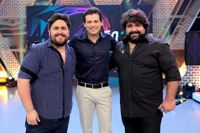 César Menotti, Celso e Fabiano, Crédito: Lourival Ribeiro/SBT