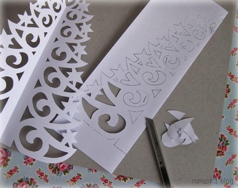 DIY Paper Christmas Tree With Printable Template