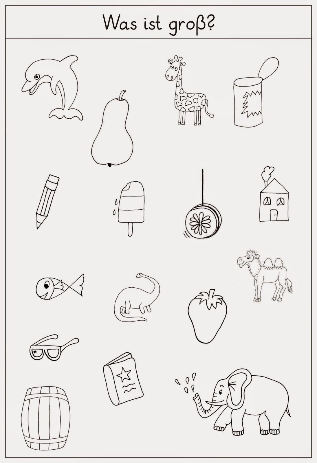 lernst bchen arbeitsbl tter zur f rderung in deutsch. Black Bedroom Furniture Sets. Home Design Ideas