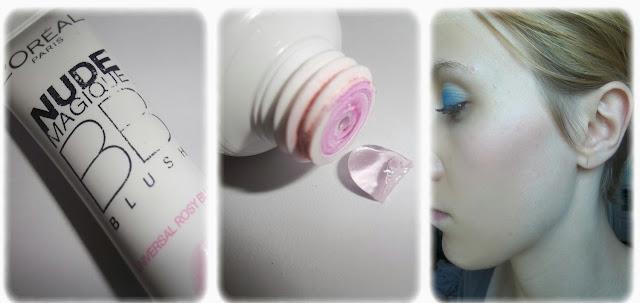 Swatch Blush BB Nude Magique - L'Oréal