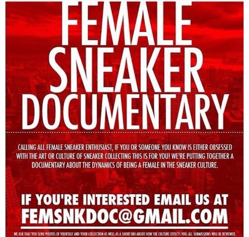 Female Sneaker Fiend  February 2012