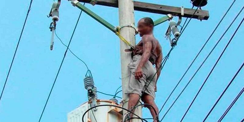 dominicanos electrocutados