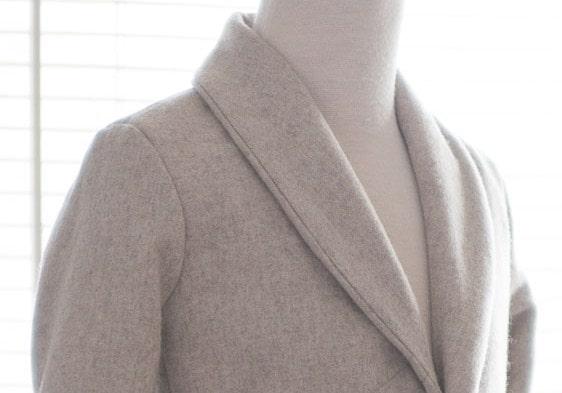 Shawl type collar