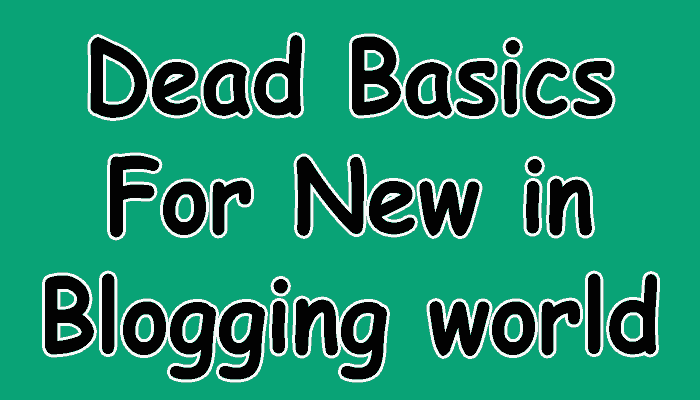 Basics earlier starting a spider web log are hither inward this post which is especially written for real ne Starting a Successful Blog? Read This First