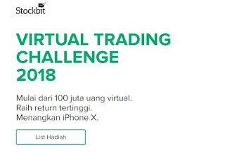 Menangkan iphone dan uang 10 juta pada kompetisi trading saham 2018