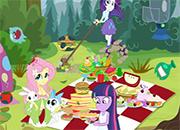 Historia de Picnic con Equestria Girls juego