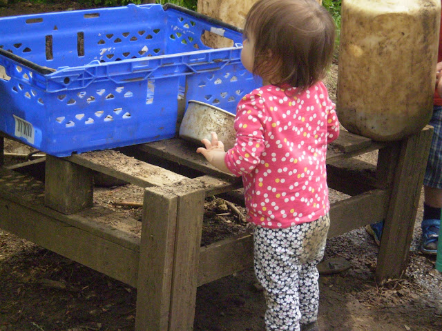 My Daughter in the Mud Kitchen