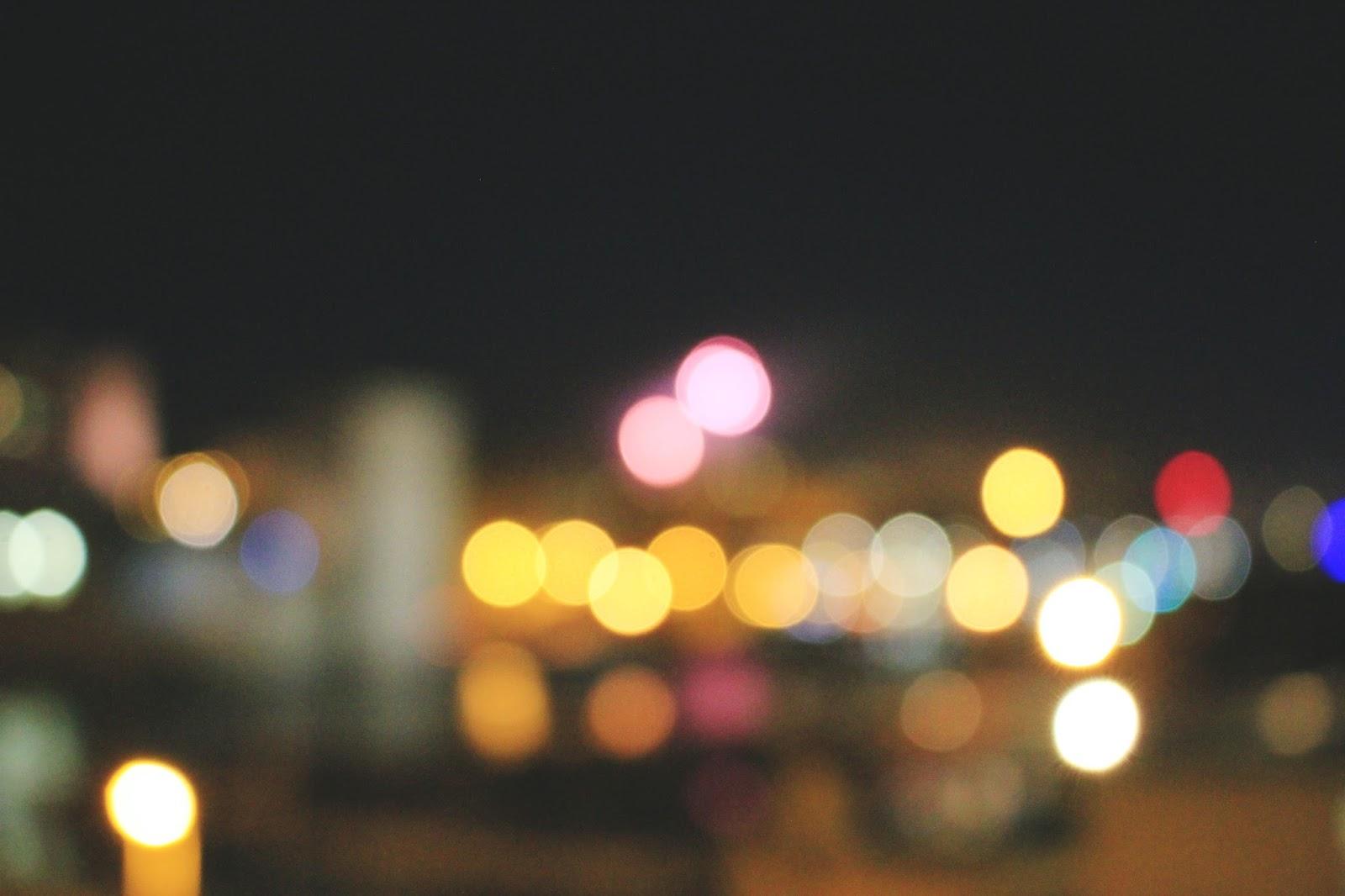 bokeh nuit