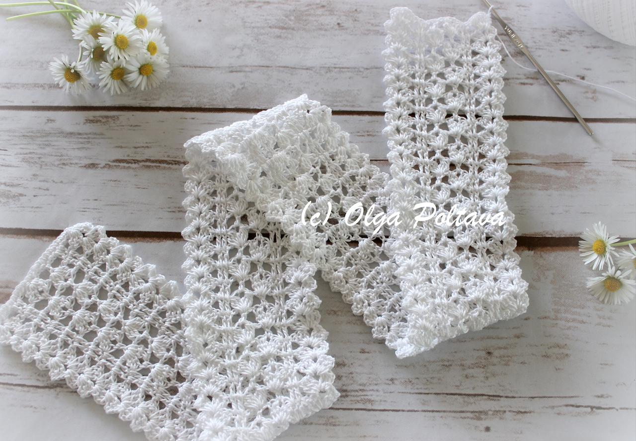 Lacy Crochet Shabby Chic Lace Edging Trim Free Crochet Pattern
