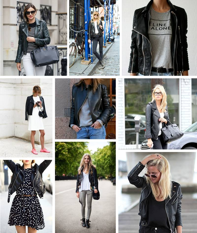 inspiration | Leather jackets