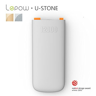 Lepow U-Stone Series 12000mAh Power Bank