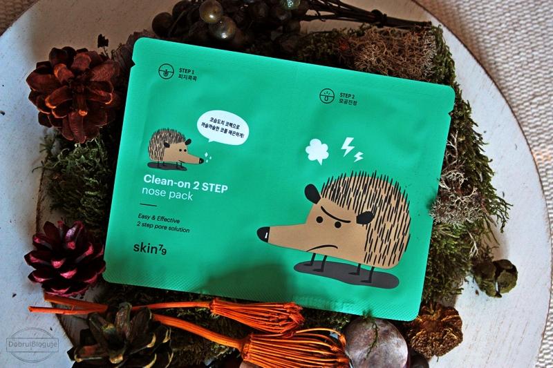 SKIN79- Clean- on 2 STEP nose pack. I po jeżu na nosie pozostaje wspomnienie.
