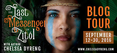 Blog Tour ~ Review: The Last Messenger of Zitol by Chelsea Dyreng