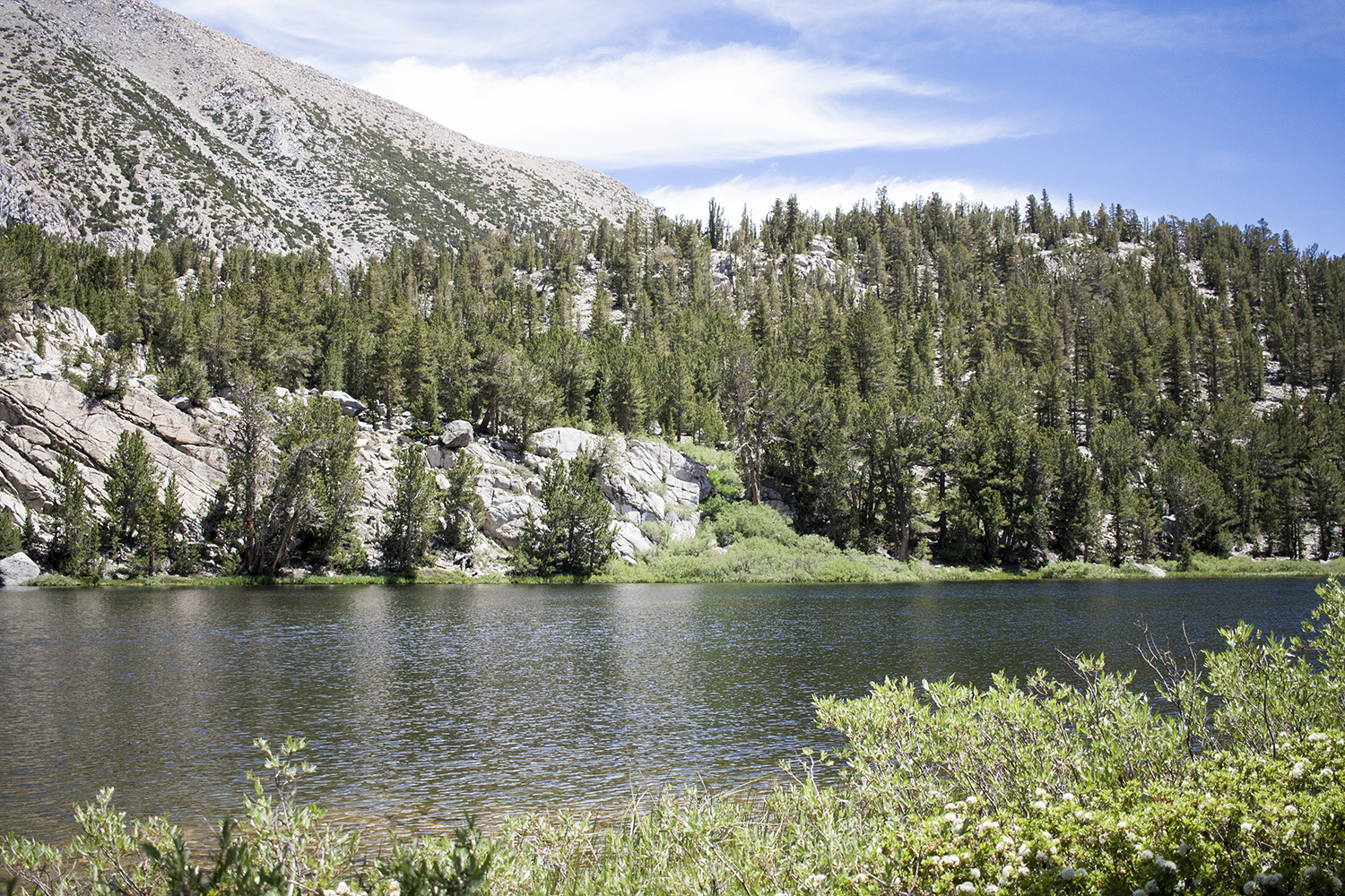Big Pine Creek, Inyo National Forest, Fourth Lake, John Muir Wilderness, Big Pine North Fork Trail, Mountains, Hiking
