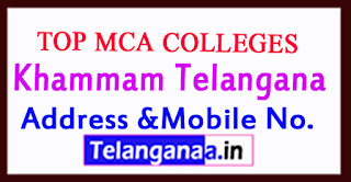 Top MCA Colleges in Khammam Telangana