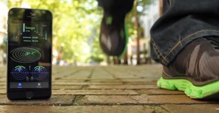 Sepatu pintar yang di kembangkan Ducere Technologies Sepatu pintar, teknologi cangih,smartshoes terbaru, spesifikasi smartshoes, harga smartshoes, sepatu yang bisa synch dengan Google Maps, sepatu paling canggih, sepatu paling keren,  Sepatu Boogio, headset  Oculus Rift,  Boogio Alpha developer kit, sepatu yang bisa terkoneksi dengan GPS
