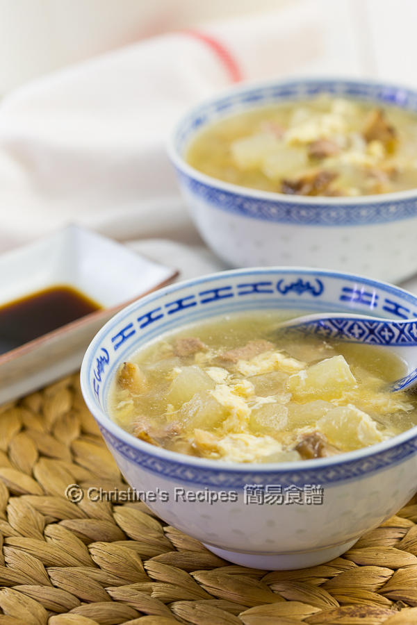 冬瓜粒湯 Winter Melon Soup02