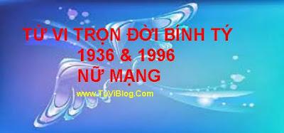Tu Vi Tron Doi Binh Ty 1936-1996