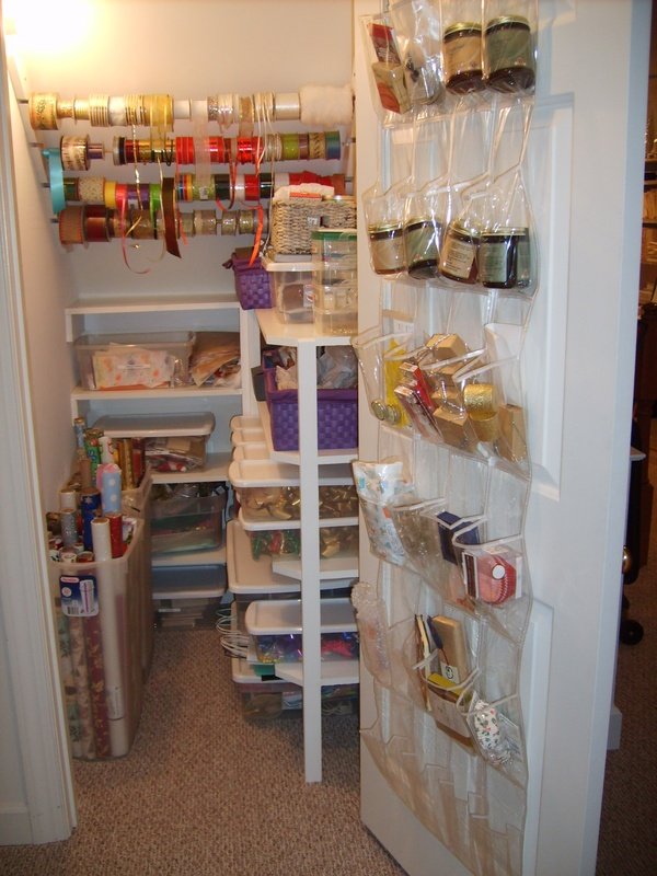 simple organizing an under the stairs closet ...