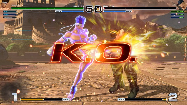 Download The King of Fighters 14 PC Games Gameplay