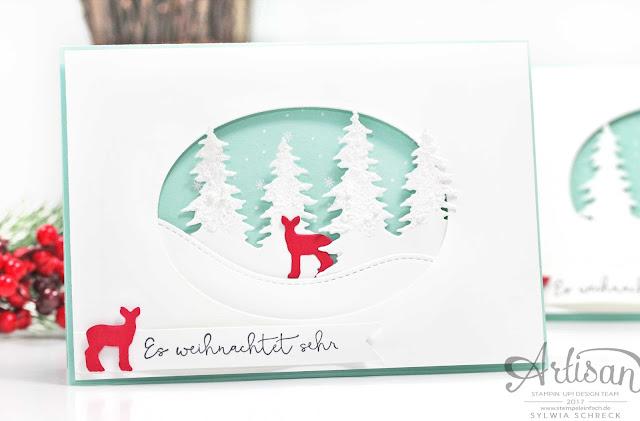 Weihnachten daheim-Stampin Up