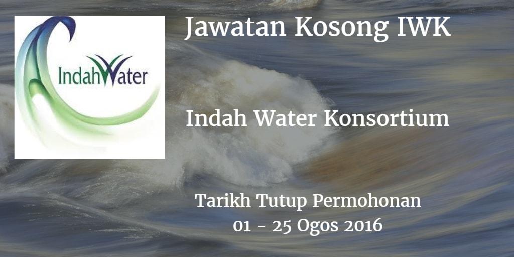 Jawatan Kosong IWK 01 - 25 Ogos 2016