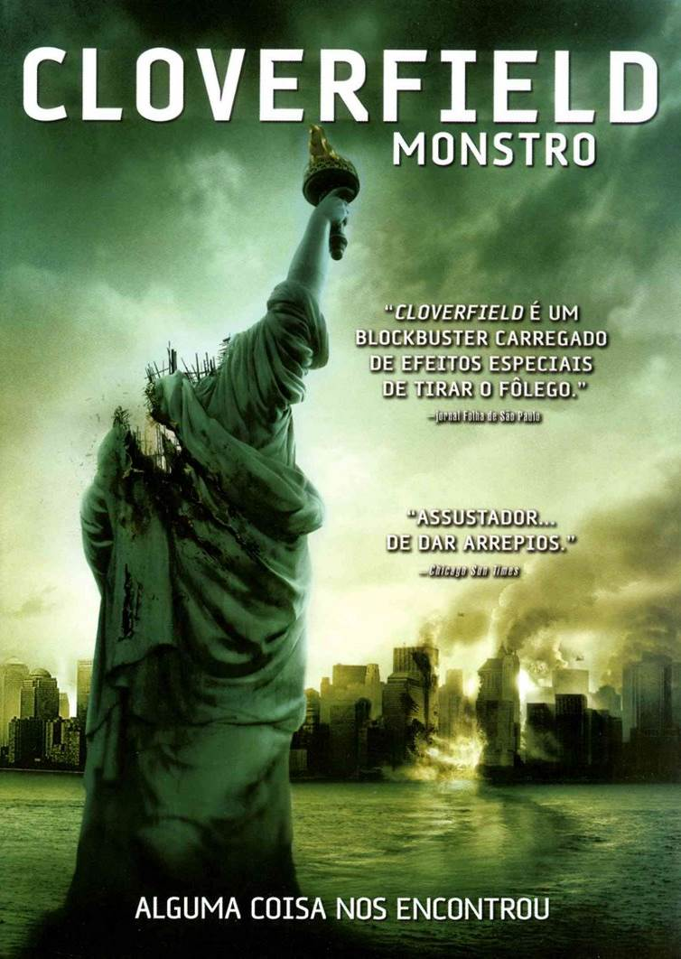 Cloverfield: Monstro (2008) Dual Áudio | Dublado DVD-R Oficial Uptobox Download